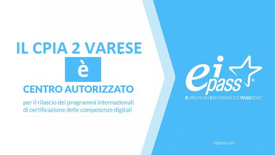 EIPASS CPIA 2 VARESE